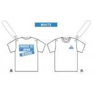 ガーランド コンセプトバトル Tシャツ WHITE / PRODUCE 101 JAPAN SEASON2 EXHIBITION COMPLETE 〜LET ME FLY〜
