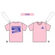 ガーランド コンセプトバトル Tシャツ PINK / PRODUCE 101 JAPAN SEASON2 EXHIBITION COMPLETE 〜LET ME FLY〜