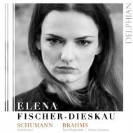Schumann Kreisleriana, Brahms Rhapsodies, Fantasies : Elena Fischer-Dieskau(P)