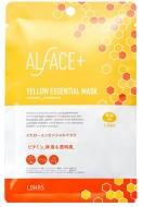 ALFACE+オルフェス イエローエッセンスマスク 1枚