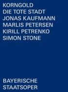 『死の都』全曲 ストーン演出、キリル・ペトレンコ&バイエルン国立歌劇場、ヨナス・カウフマン、マルリス・ペーターゼン、他(2019 ステレオ)(日本語字幕付)(2DVD)