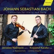 ヴァイオリンとフルートによる協奏曲集 ヤロスラフ・ナドジツキ、クシシュトフ・カチカ、ロレンツォ・グゴーレ&ラ・パッショナータ
