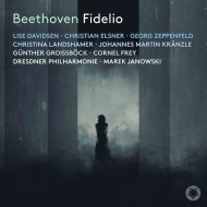 『フィデリオ』全曲 マレク・ヤノフスキ&ドレスデン・フィル、リーゼ・ダヴィドセン、クリスティアン・エルスナー、他(2020 ステレオ)(2SACD)