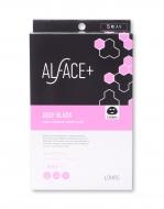 ALFACE+オルフェス アクアモイスチャーシートマスク ディープブラック 5枚