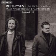 ヴァイオリン・ソナタ第9番『クロイツェル』、第8番、第10番 フランク・ペーター・ツィンマーマン、マルティン・ヘルムヒェン(平行弦ピアノ)(日本語解説付)