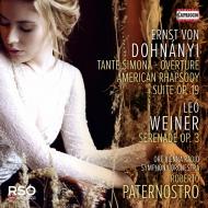 ドホナーニ:組曲、アメリカ狂詩曲、ヴェイネル:セレナード ロベルト・パーテルノストロ&ウィーン放送交響楽団