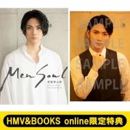 《HMV&BOOKS online限定特典:ブロマイドB》校條拳太朗30th写真集「Men Soul」