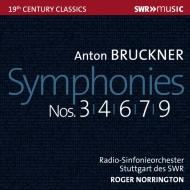 交響曲第3番、第4番、第6番、第7番、第9番 ロジャー・ノリントン&シュトゥットガルト放送交響楽団(5CD)