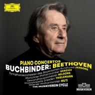 ピアノ協奏曲全集 ルドルフ・ブッフビンダー、ネルソンス、ヤンソンス、ゲルギエフ、ティーレマン、ムーティ(3MQA/UHQCD)