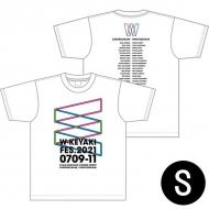 ロゴTシャツ ホワイト サイズS / W-KEYAKI FES.2021