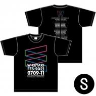 ロゴTシャツ ブラック サイズS / W-KEYAKI FES.2021