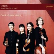 『1824』〜ベートーヴェン:弦楽四重奏曲第12番、弦楽四重奏曲第13番『ロザムンデ』 パシフィック・カルテット・ウィーン