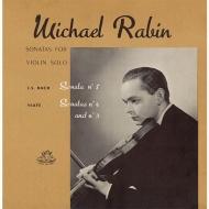 バッハ:無伴奏ヴァイオリン・ソナタ第3番 イザイ:無伴奏ヴァイオリン・ソナタ第3番 マイケル・レビン (アナログレコード)