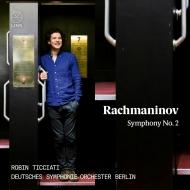 交響曲第2番 ロビン・ティチアーティ&ベルリン・ドイツ交響楽団(日本語解説付)