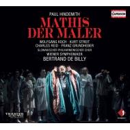 歌劇『画家マティス』全曲 ベルトラン・ド・ビリー&ウィーン交響楽団、ヴォルフガング・コッホ、カート・ストレイト、他(2012 ステレオ)(3CD)