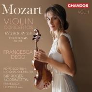 ヴァイオリン協奏曲第3番、第4番 フランチェスカ・デゴ、ロジャー・ノリントン&ロイヤル・スコティッシュ・ナショナル管弦楽団