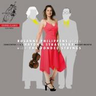 ハイドン:ヴァイオリン協奏曲第1番、第4番、ストラヴィンスキー:ディヴェルティメント ロザンネ・フィリッペンス、ザ・フォンデル・ストリングス