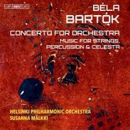 管弦楽のための協奏曲、『弦楽器、打楽器とチェレスタのための音楽』 スサンナ・マルッキ&ヘルシンキ・フィル