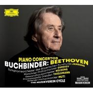ピアノ協奏曲全集 ルドルフ・ブッフビンダー、ネルソンス、ヤンソンス、ゲルギエフ、ティーレマン、ムーティ(3CD)