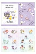 ミニクリアファイルセット(コウジ×ウィッシュミーメル)/ KING OF PRISM -Shiny Seven Stars-×SANRIO CHARACTERS