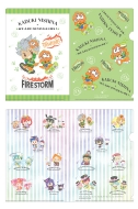 ミニクリアファイルセット(カヅキ×ウィアーダイナソアーズ)/ KING OF PRISM -Shiny Seven Stars-×SANRIO CHARACTERS