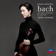 無伴奏ヴァイオリンのためのソナタとパルティータ 全曲 諏訪内晶子(2CD)
