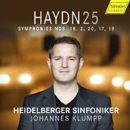 交響曲第2番、第17番、第18番、第19番、第20番 ヨハネス・クルンプ&ハイデルベルク交響楽団(日本語解説付)