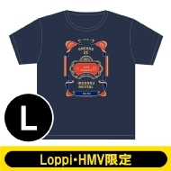 Tシャツ ネイビー(L)/ 第三回 音楽で彩るリサイタル【Loppi・HMV限定】