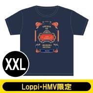 Tシャツ ネイビー(XXL)/ 第三回 音楽で彩るリサイタル【Loppi・HMV限定】