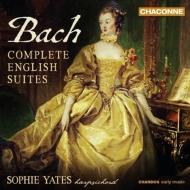 イギリス組曲 全曲 ソフィー・イェーツ(チェンバロ)(2CD)(日本語解説付)