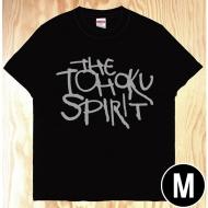 東北魂Tシャツ 黒×英語 M