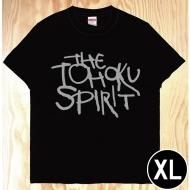 東北魂Tシャツ 黒×英語 XL