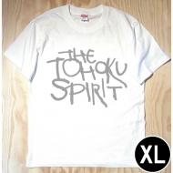 東北魂Tシャツ 白×英語 XL