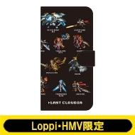 手帳型スマホケース(C:ドット絵 Black)【Loppi・HMV限定】