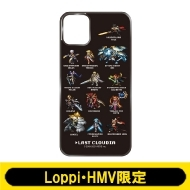 iPhoneケース11(C:ドット絵 Black)【Loppi・HMV限定】