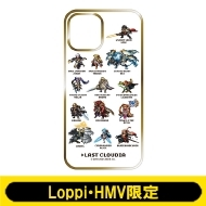 iPhoneケース12(B:ドット絵 White)【Loppi・HMV限定】