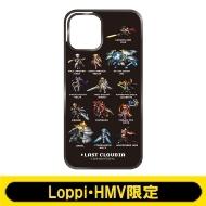 iPhoneケース12(C:ドット絵 Black)【Loppi・HMV限定】