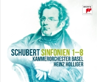 交響曲全集 ハインツ・ホリガー&バーゼル室内管弦楽団(5SACD)