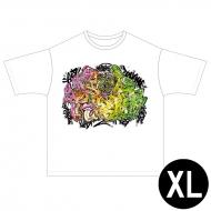ゴッドタンロゴTシャツ(Number-Dコラボ) 白(XL)
