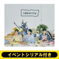 《イベントシリアル付き》identity(+CD)【全額内金】