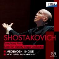 交響曲第8番、ステージ・オーケストラのための組曲(ジャズ組曲第2番)より 井上道義&新日本フィル