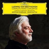 ピアノ協奏曲全集 クリスティアン・ツィマーマン、サイモン・ラトル&ロンドン交響楽団(3SACD+1ブルーレイ・ビデオ+1ブルーレイ・オーディオ)