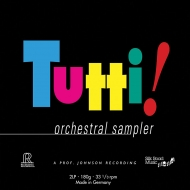 『トゥッティ!』 オーケストラル・サンプラー (2枚組アナログレコード)