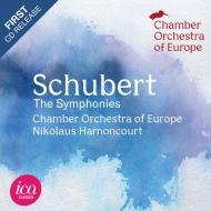 交響曲全集 ニコラウス・アーノンクール&ヨーロッパ室内管弦楽団(1988)(4CD)(日本語解説付)