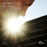 バンドネオン協奏曲、リエージュに捧ぐ、オブリビオン、他 ウィリアム・サバティエ、レオナルド・ガルシア・アラルコン&ディジョン・ブルゴーニュ管(日本語解説付)