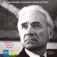 Jean Martinon / French National Radio Orchestra : Beethoven Symphony No.3, Brahms Symphony No.1, Mahler Symphony No.1 (1967-71 Stereo Live)(2CD)