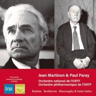 Jean Martinon : Beethoven Symphony No.5, Brahms Symphony No.2, Mussorgsky +Paul Paray : Saint-Saens Symphony No.3 (1970-73 Stereo Live)(2CD)