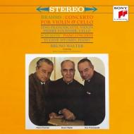 ブラームス:二重協奏曲、シューマン:ピアノ協奏曲 ブルーノ・ワルター&コロンビア交響楽団、ジノ・フランチェスカッティ、ピエール・フルニエ、ユージン・イストミン