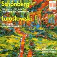 5 Orch.stucke / Trauermusik: Herbig / Berlin.so