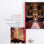 Music For Organ Duo: Poirier, Crozier(Org)